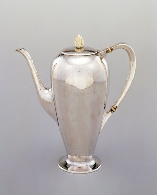 Coffee pot, from a four-piece coffee and tea set