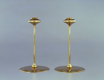 Candlestick; one of a pair
