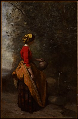 Peasant Girl at the Spring