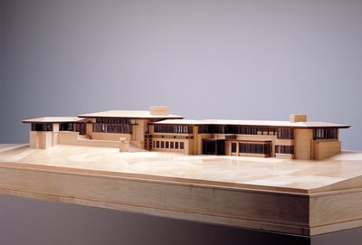 Model of the Francis W. Little house (1912-1914)