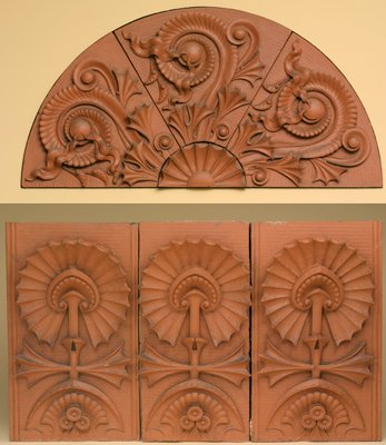 Lunette and decorative panels