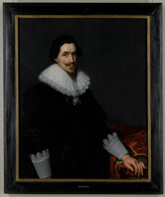 Portrait of Lucas van Voorst (1590-1669)