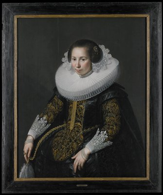 Portrait of Catharina van Voorst (1595-1650)