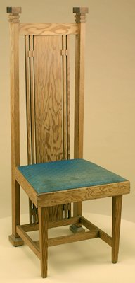 Side chair, one of four