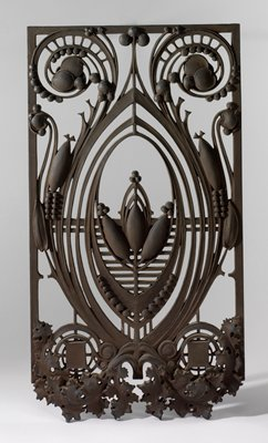 Sample cast for elevator bank decoration