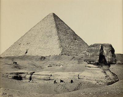 The Great Pyramid and the Great Sphinx, Egypt